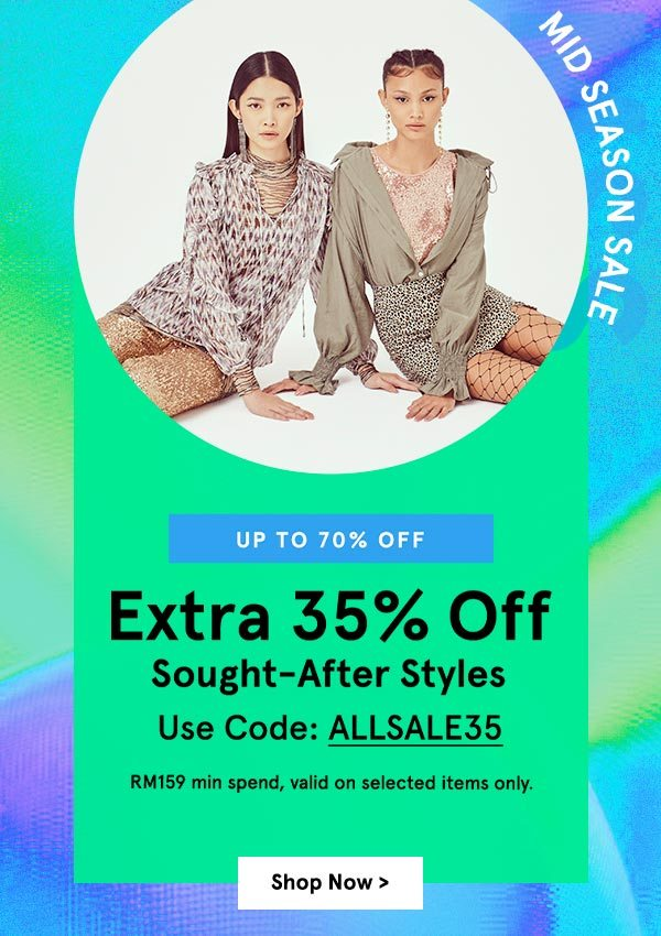 Extra 35% Off Sought-After Styles!