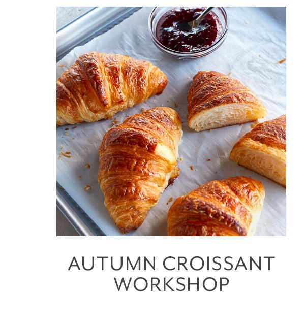 Class: Autumn Croissant Workshop