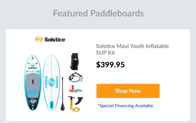 Solstice Maui Youth Inflatable SUP Kit