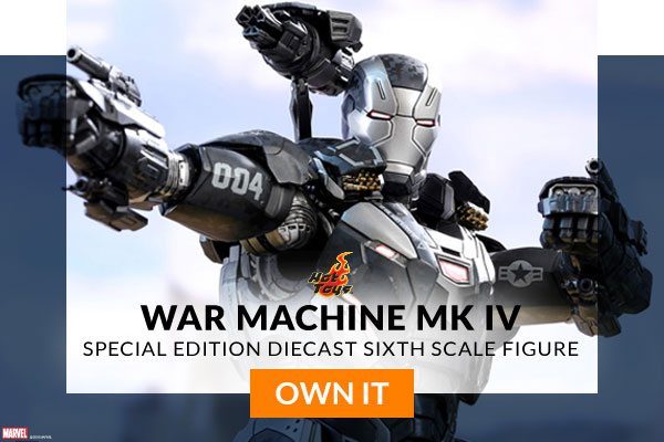 Exclusive War Machine Mk IV - Diecast - Special Edition Sixth Scale Figure (Hot Toys)