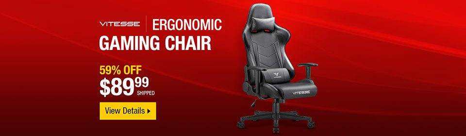 Up To 37 Off Dyson Vacuums 89 99 Vitesse High Back Gaming Chair Neweggflash Email Archive