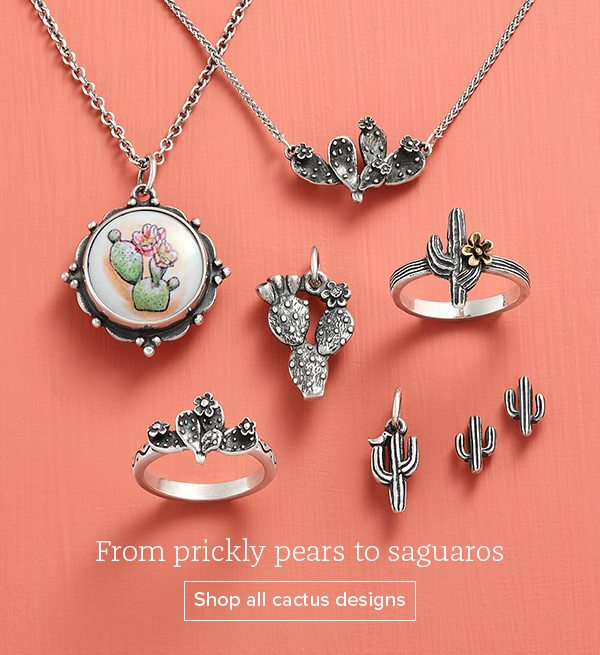 From prickly pears to saguaros - Shop all cactus designs