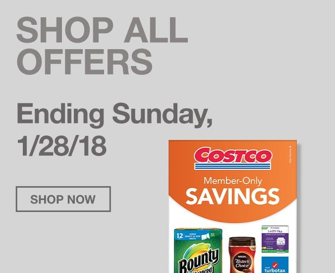 Offers Ending Sunday, 1/28/18 Plus Gear Up for the Big Game