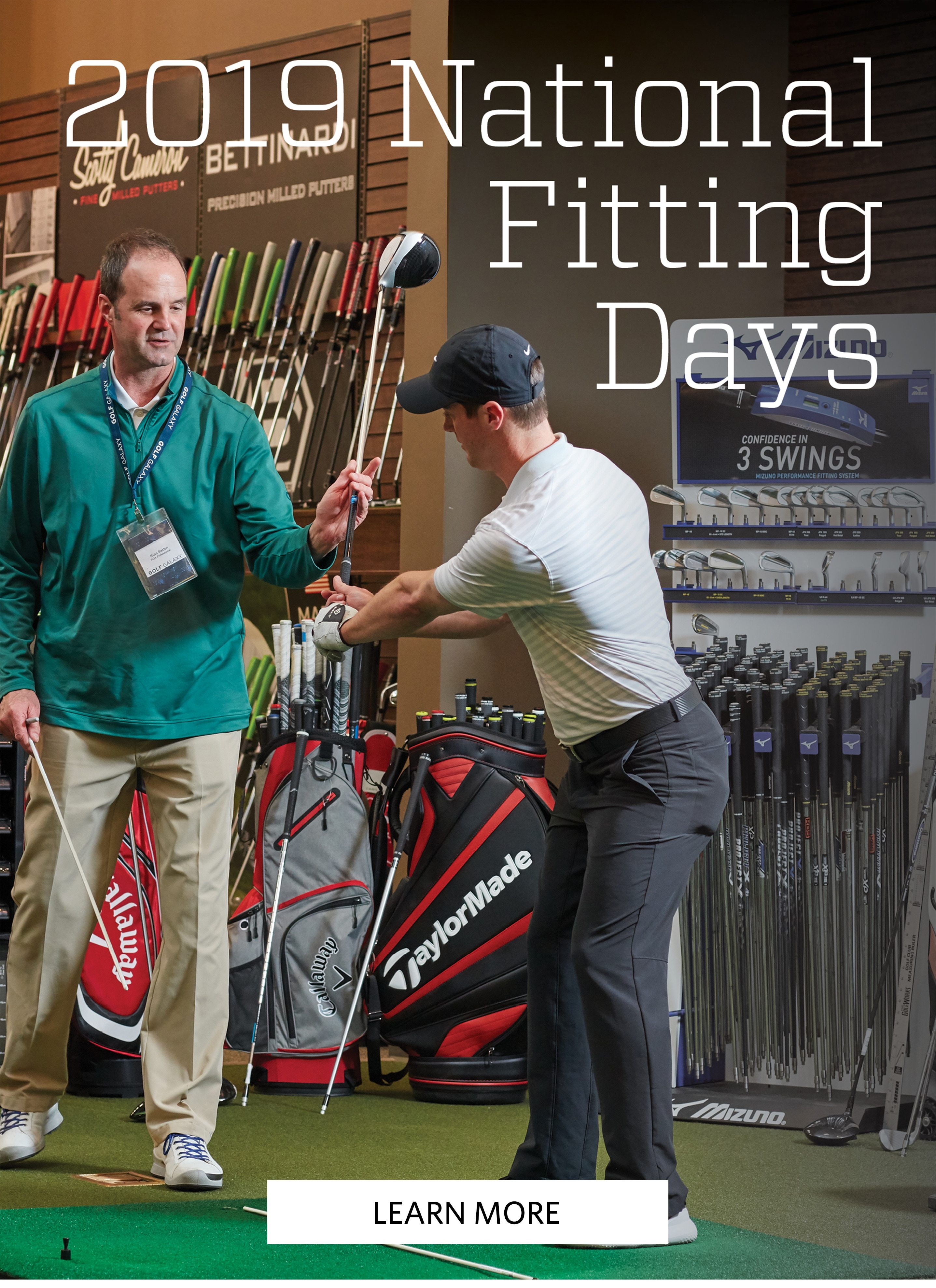 2019 National Fitting Days | LEARN MORE