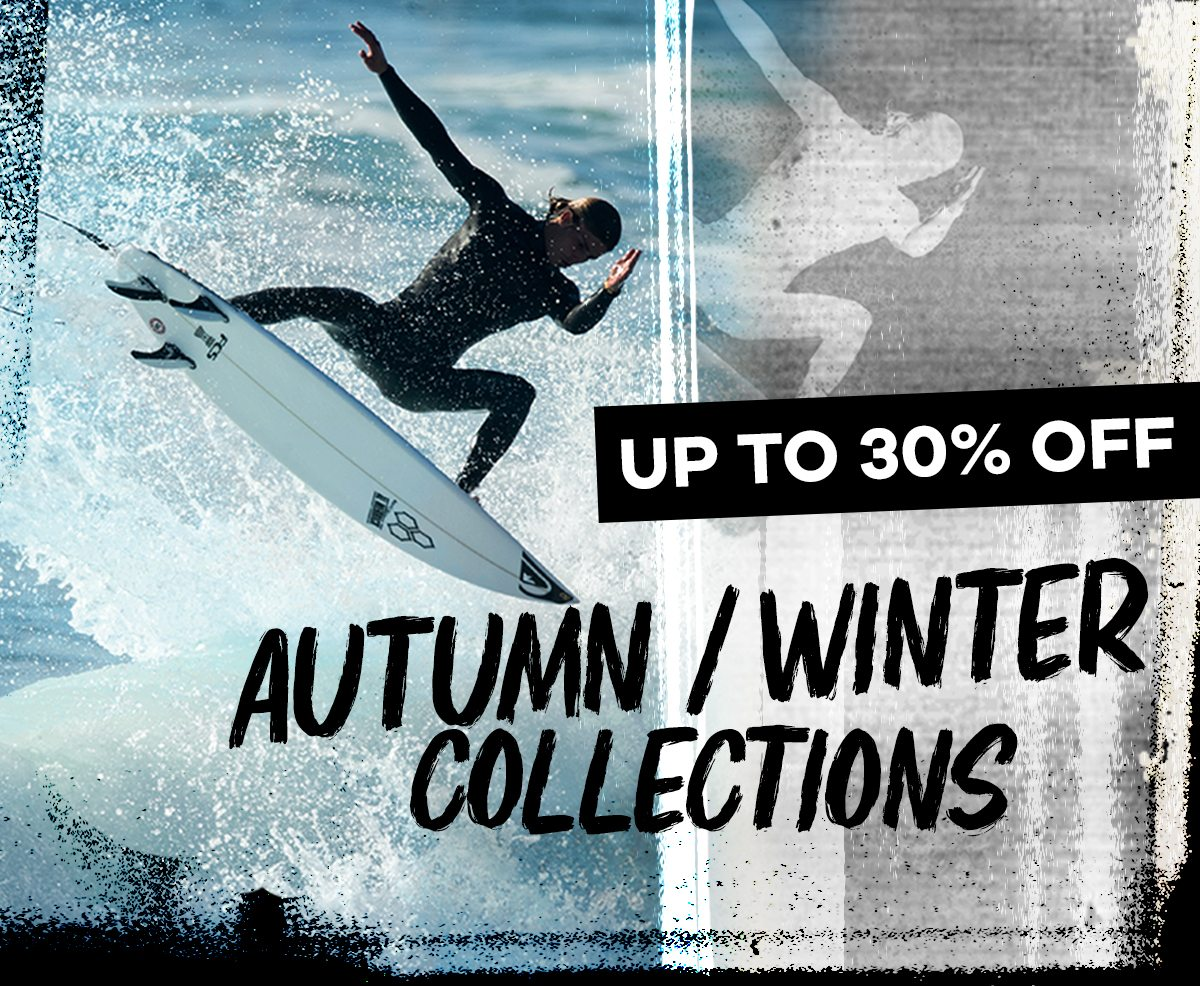 Up to 30% Autumn/Winter collections