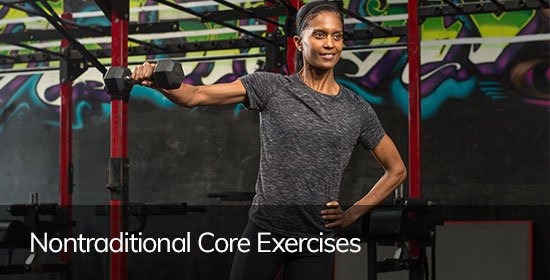 nontraditional core exercises 4 workout time wasters power of