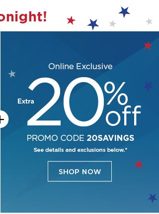 3e20667cf Only hours left to take 20% off + $10 off! - Kohl's Email Archive