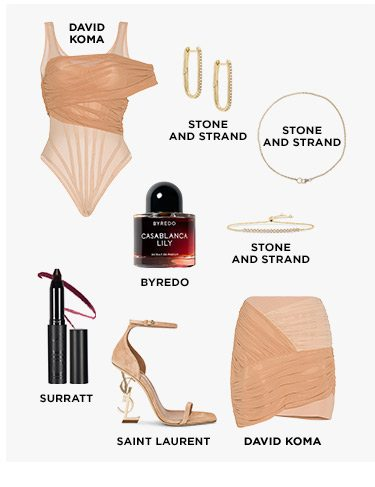 Some Like It Hot: Bring on the heat in these unapologetically sexy styles —think skintight silhouettes, delicate lingerie, and sensual scents. Shop the Edit