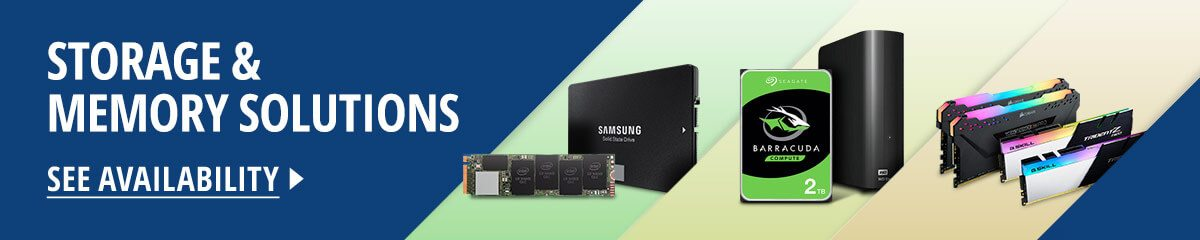 Storage & Memory Solutions