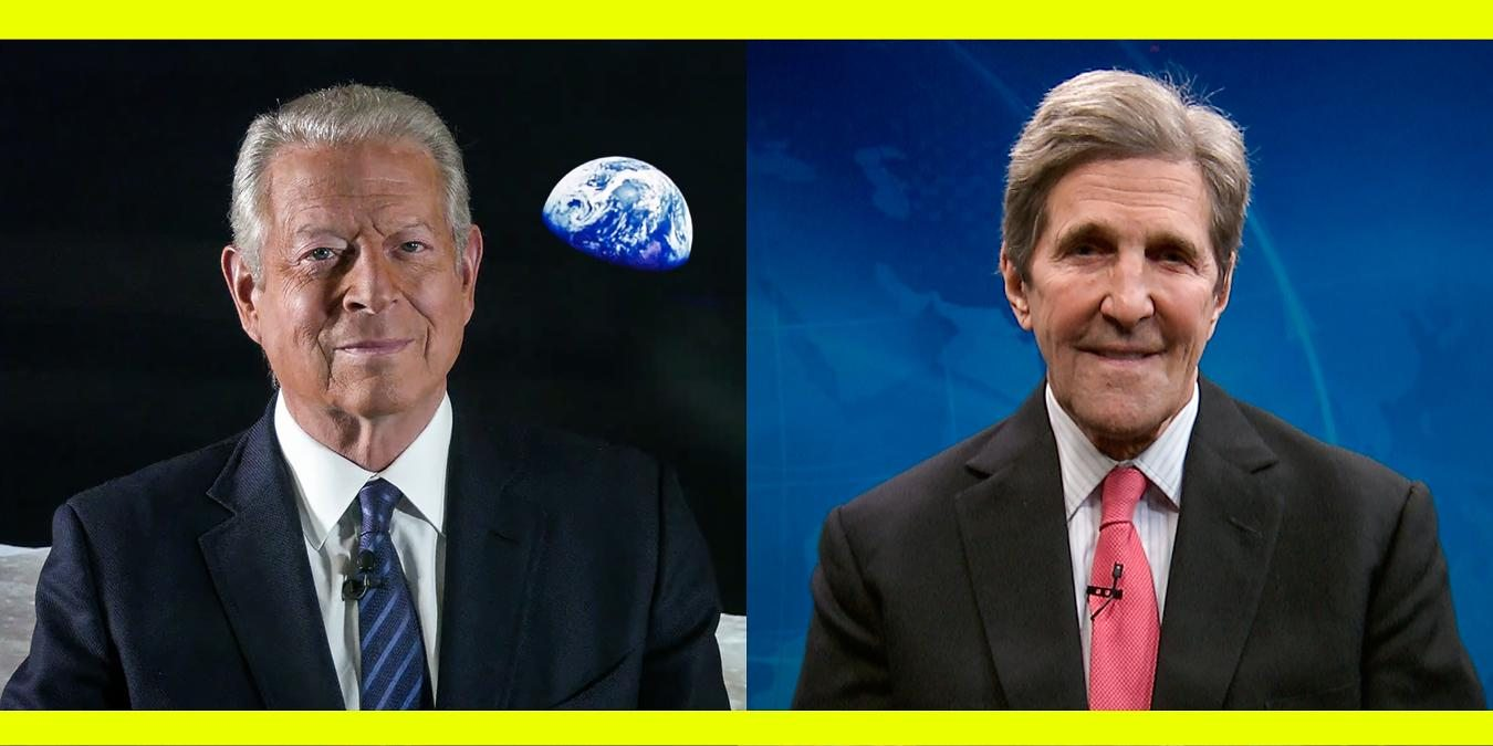 An idea from TED by John Kerry and Al Gore entitled The US is back in the Paris Agreement. What's next?