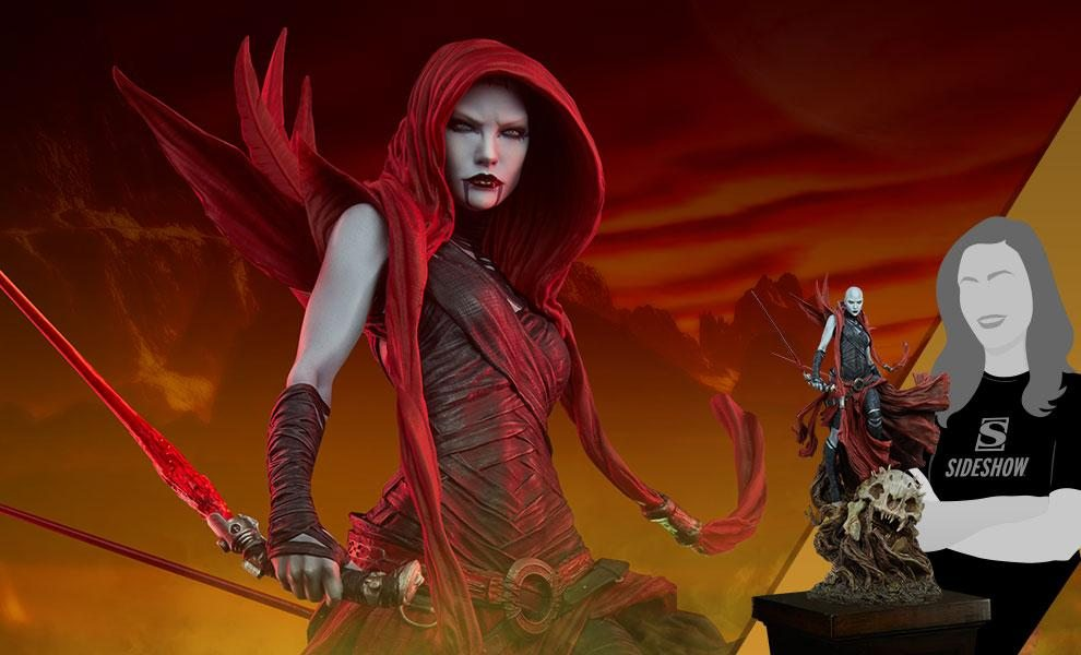 Asajj Ventress™ Mythos Statue by Sideshow Collectibles