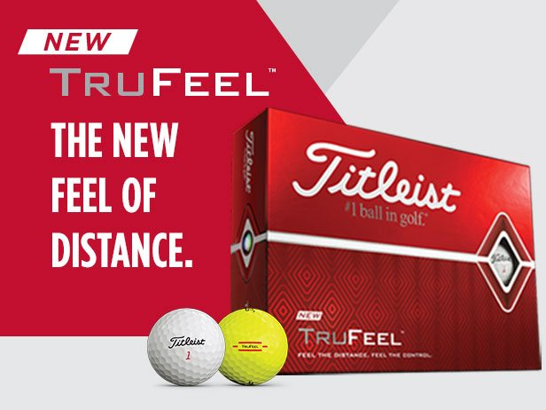 TruFeel Titleist Golf Balls