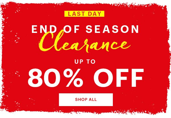6964699653f5 Last Day To SAVE BIG  Up To 80% Off Clearance - Bluefly Email Archive