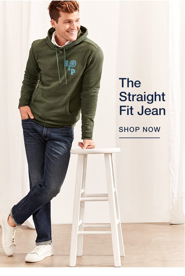 THE FIT STRAIGHT JEAN