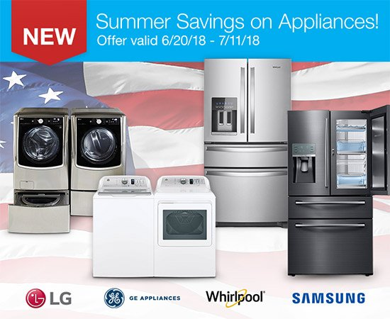 our appliances summer savings event is here shop these new savings rh emailtuna com