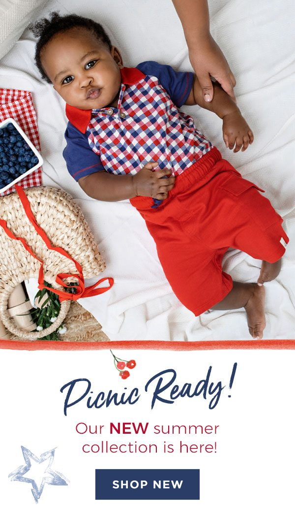 Picnic Ready! Our new summer collection is here!