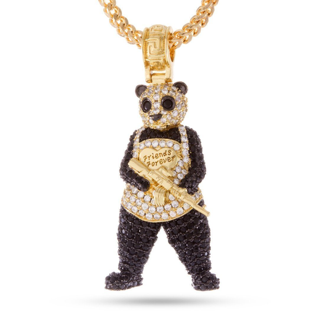 Suicide Squad x KING ICE - The Panda Man Necklace