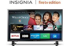 Insignia 32 720p HD LED-backlit Smart HDTV (NS-32DF310NA19) - Fire TV Edition