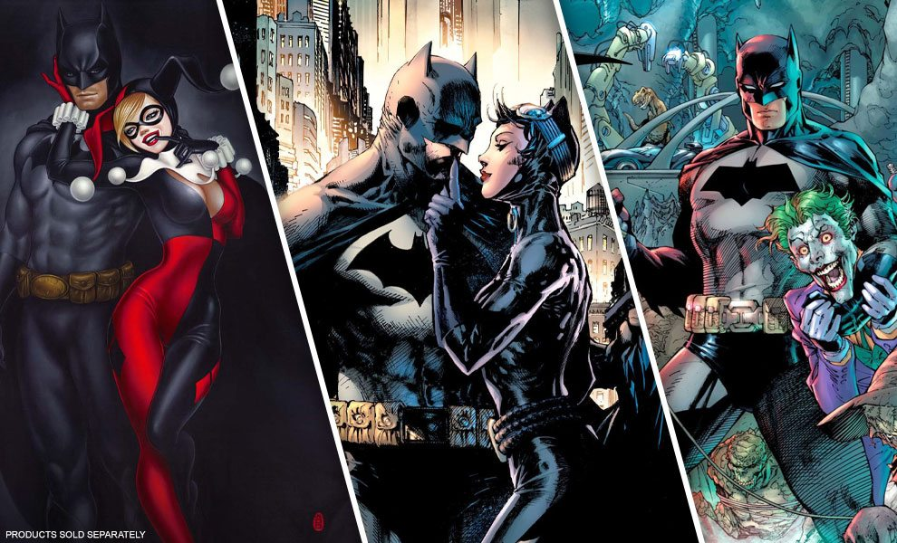 NEW Batman Art Prints from Clampett Studio Collections