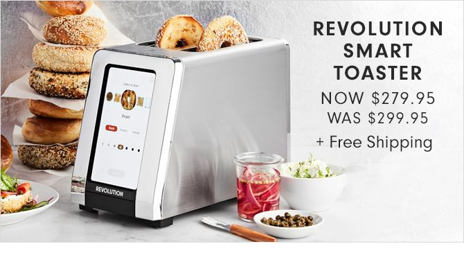 REVOLUTION SMART TOASTER - NOW $279.95 + Free Shipping