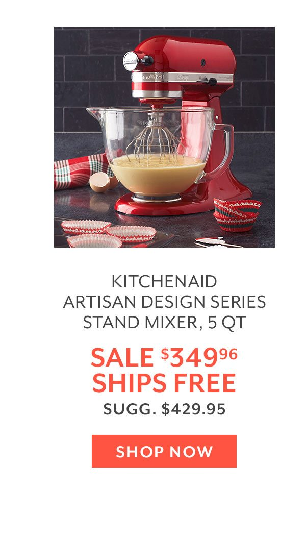 KitchenAid Artisan Design Series Stand Mixer, 5 QT