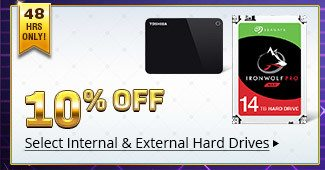 Internal & External Hard Drives