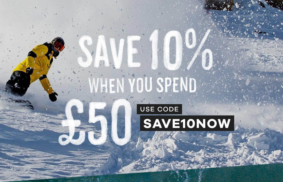 Save 10% when you spend £50 | Code: SAVE10NOW