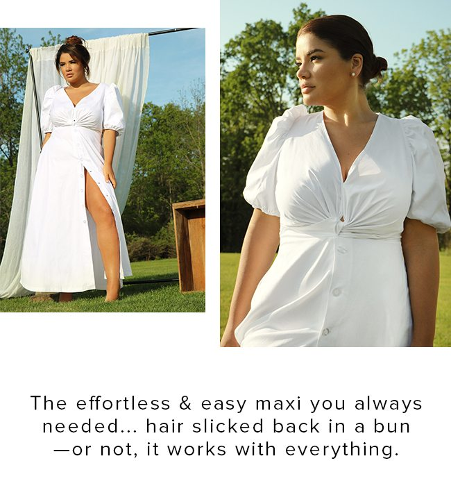 THE EFFORTLESS AND EASY MAXI