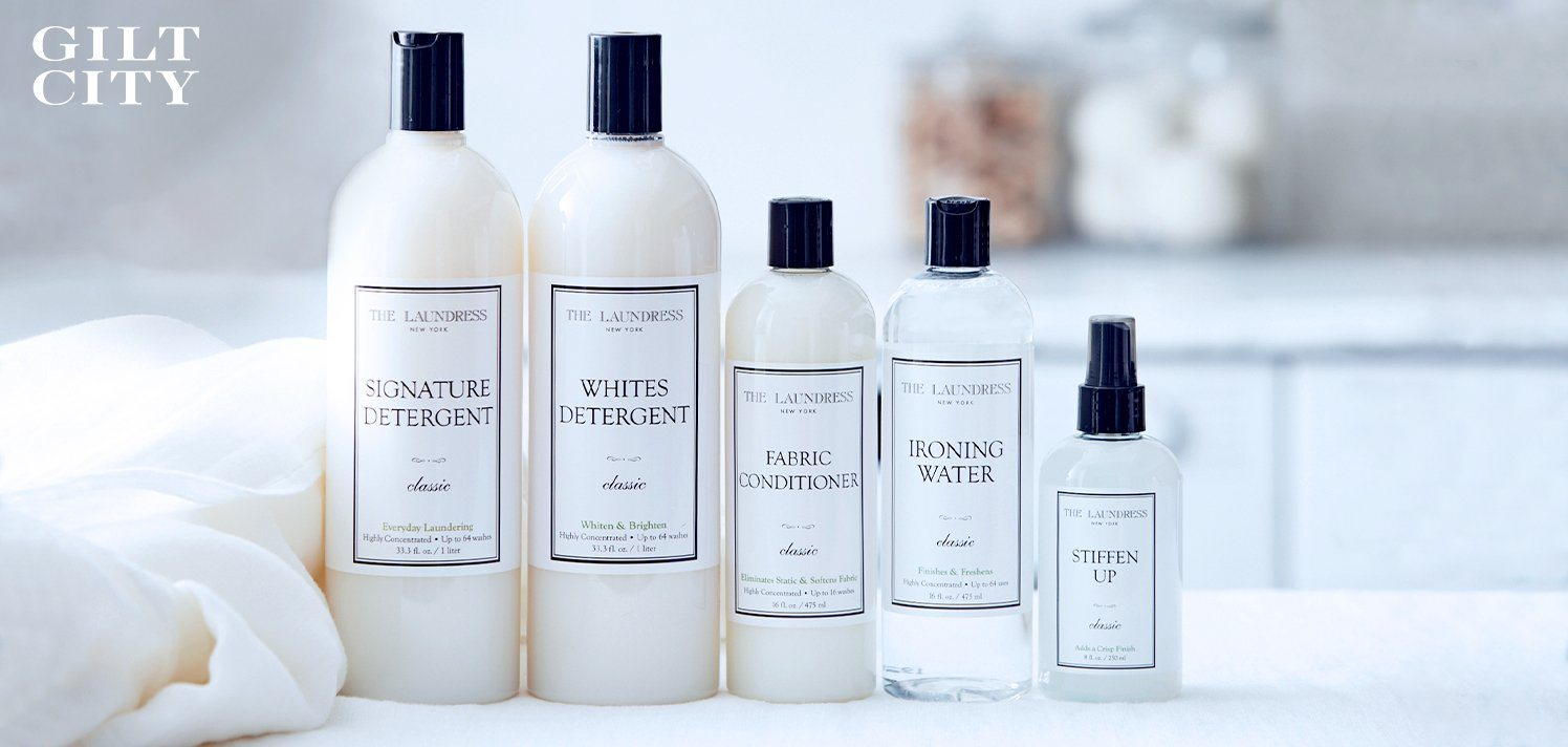 The Laundress: 40% Off Eco-Friendly Laundry Essentials