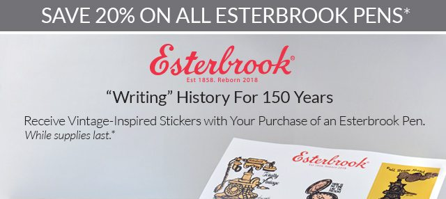 Shop all Esterbrook writing instruments!