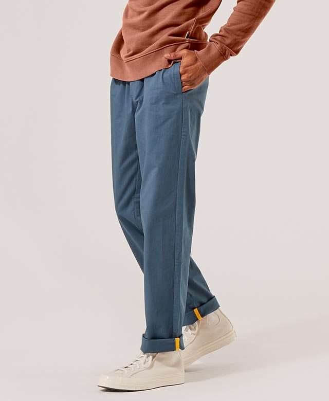 Woven Roll Up Pant