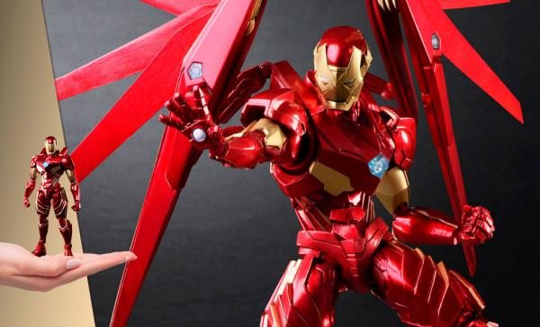 NOW AVAILABLE Iron Man Action Figure by Square Enix