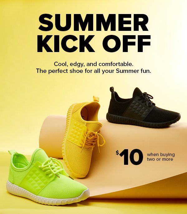 $10 sneakers are here! - Rainbow Shops