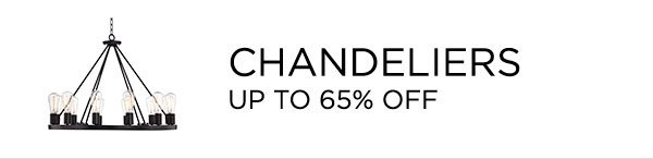 Chandeliers - Up To 65% Off