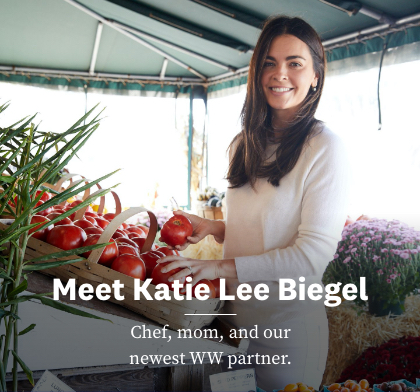 Meet Katie Lee Biegel | Chef, mom, and our newest WW partner.