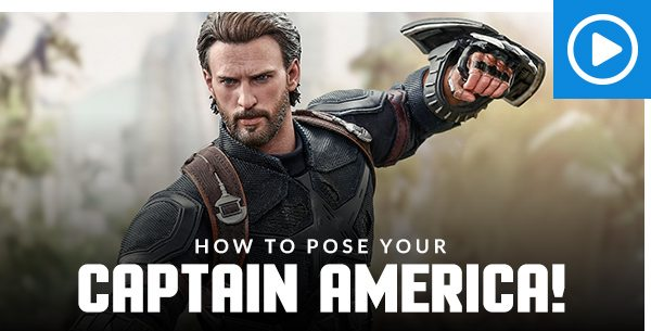 How to pose your Captain America!