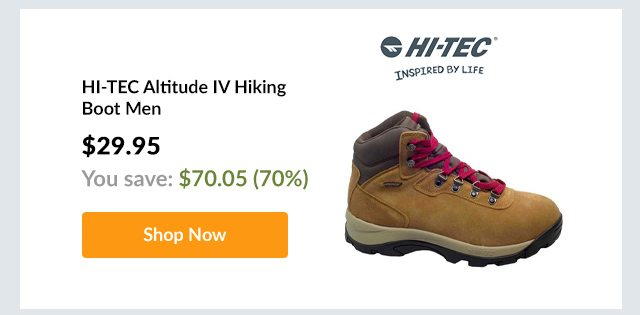 HI-TEC Altitude IV Hiking Boot Men