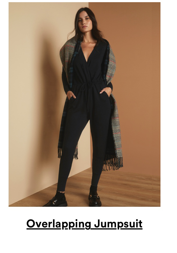 Overlapping Jumpsuit