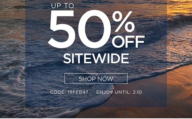 Up To 50% Off Sitewide - Shop Now
