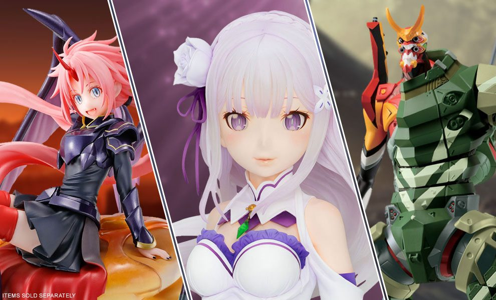 New Anime collectibles by Bandai