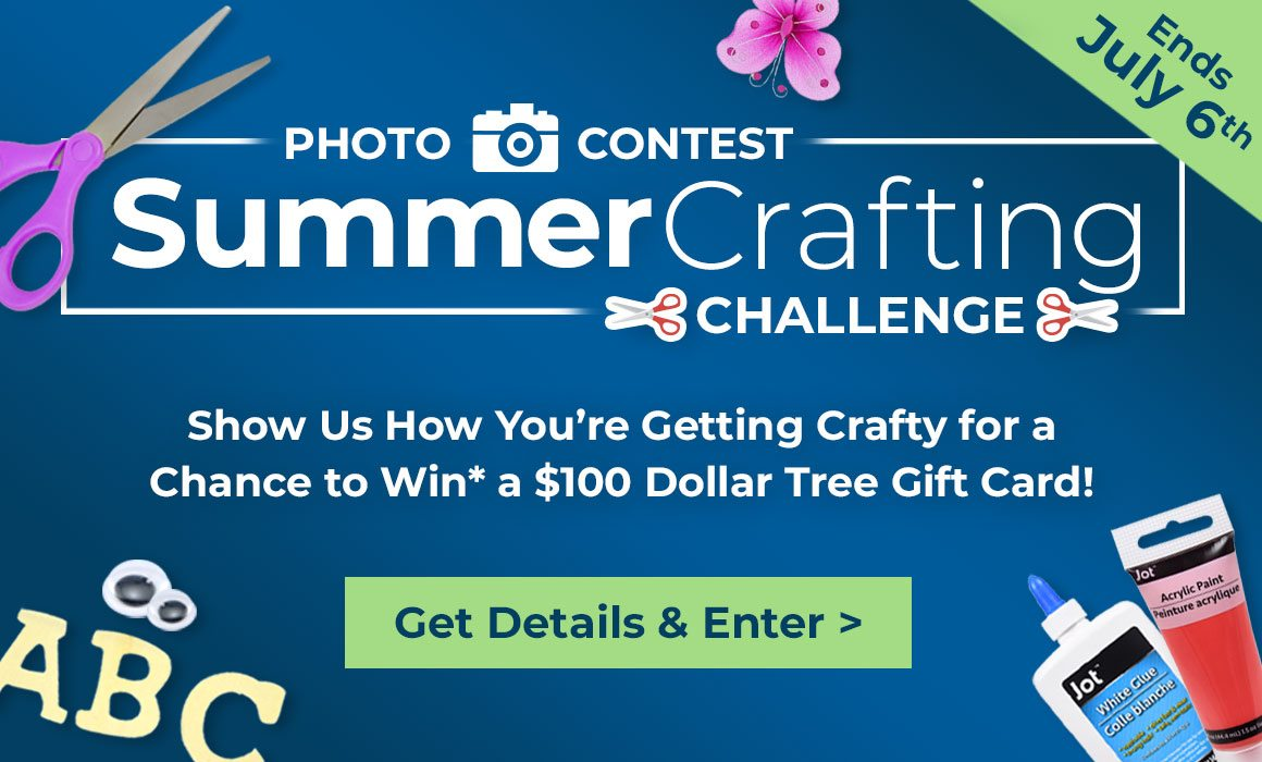 Enter Our Summer Crafting Photo Contest!