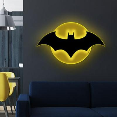 Batman LED Logo Light LARGE (Brandlite)