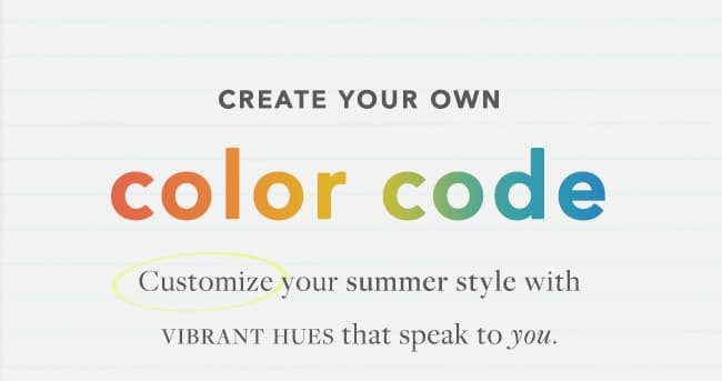 Create Your Own with Color Code Charms
