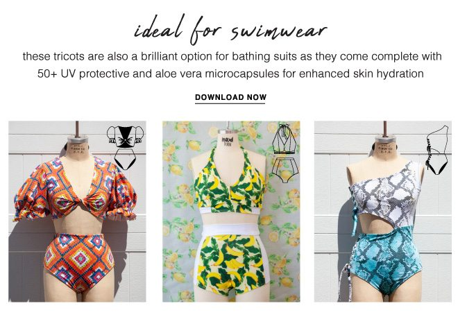 ALSO IDEAL FOR SWIMWEAR - FREE DOWNLOAD NOW