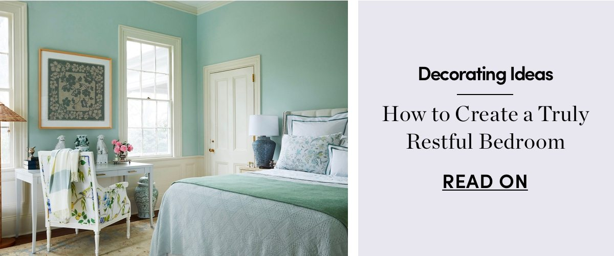 How to Create a Truly Restful Bedroom