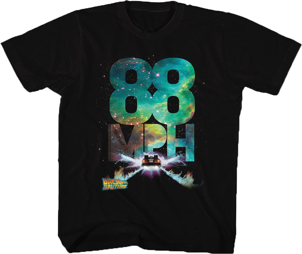 Kids 88 MPH Back To The Future Shirt