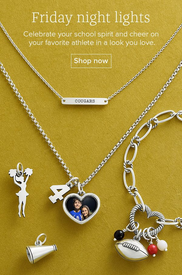 Friday night lights - Celebrate your school spirit and cheer on your favorite athlete in a look you love. Shop now