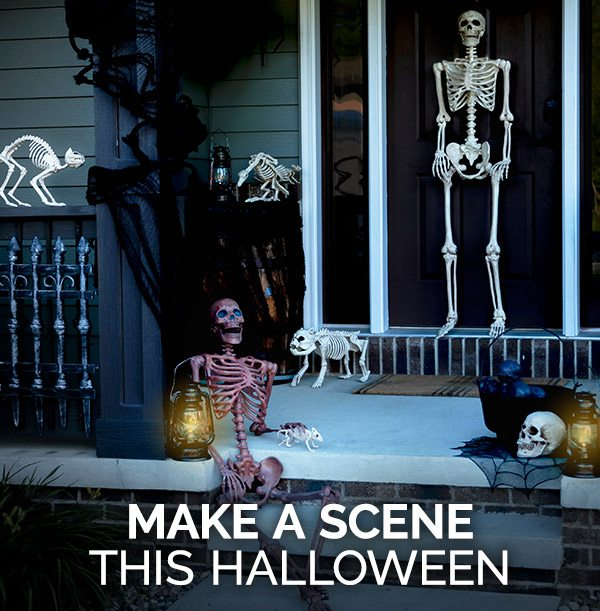 Make a scene this Halloween