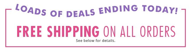 FREE shipping, 30% off tops, buy one, get one $5 leggings +