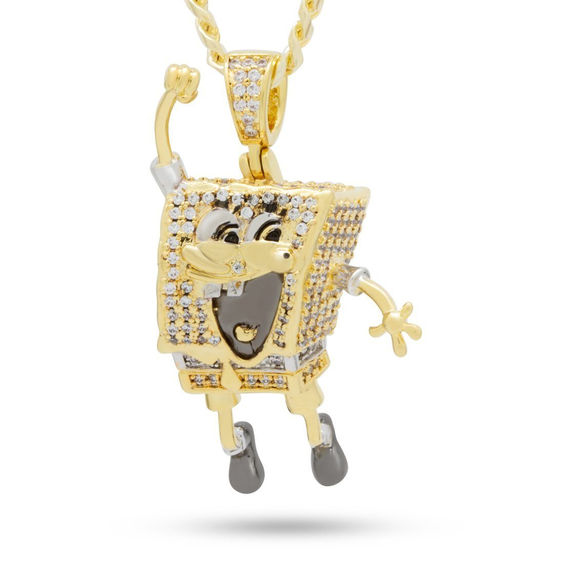 Image of SpongeBob x King Ice - The I'm Ready! Necklace
